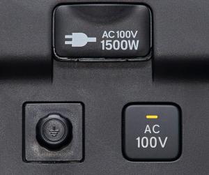 ステップワゴンの100V AC電源