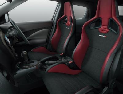 ジュークNISMO RSの内装