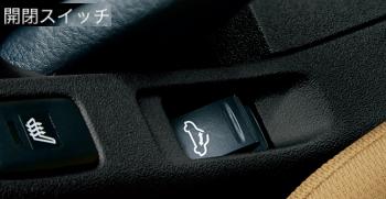コペンの電動開閉ルーフの開閉スイッチ