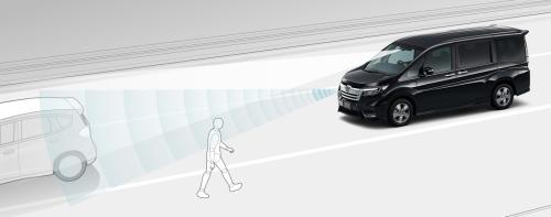 ステップワゴンの安全装備のホンダセンシング