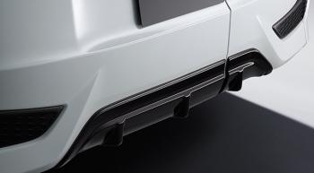 ステップワゴンモデューロ X専用リアバンパー&リアロアディフュ―ザー