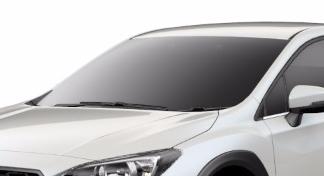XVのスーパーUVカットフロントガラス