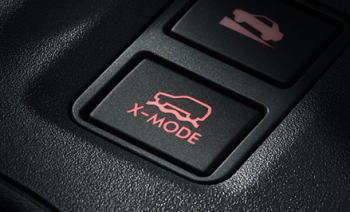 XVのX-MODE スイッチ