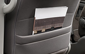 ステップワゴンのシートバックポケット
