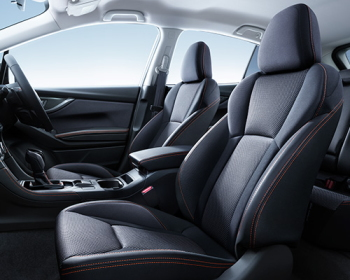 XVの運転席&助手席8ウェイパワーシート