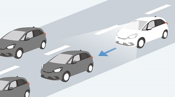 フィットの渋滞追従機能付ACC