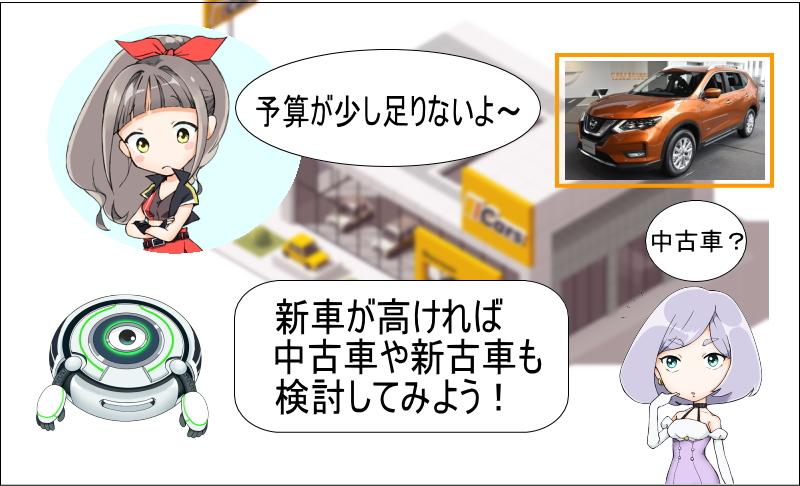 エクストレイルの新車が高ければ中古車や新車も検討しよう!