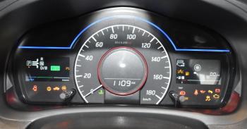 ノートe-POWER NISMO Sのスピードメーター