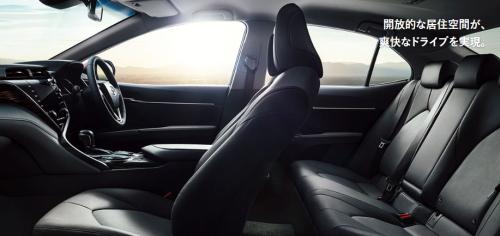 カムリの車内空間