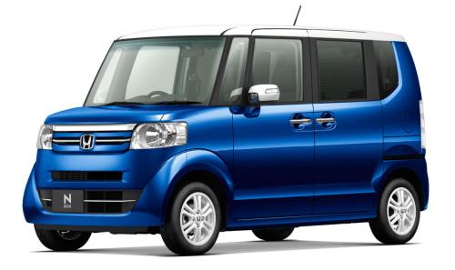 NBOX標準車 ブリリアントスポーティーブルー・メタリック/ホワイト