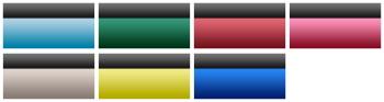 豊富なカラーラインナップ