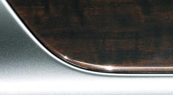 木目調&シルバー塗装加飾パネル