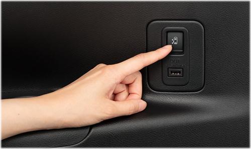 スライドドア サードシート用助手席側オートスライドドアスイッチ